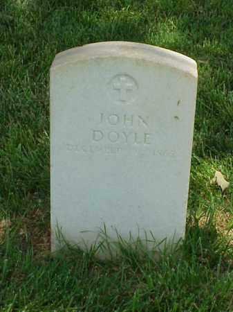 DOYLE (VETERAN UNION), JOHN - Pulaski County, Arkansas | JOHN DOYLE (VETERAN UNION) - Arkansas Gravestone Photos