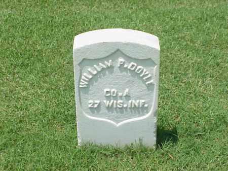 DOYLE (VETERAN UNION), WILLIAM P - Pulaski County, Arkansas | WILLIAM P DOYLE (VETERAN UNION) - Arkansas Gravestone Photos