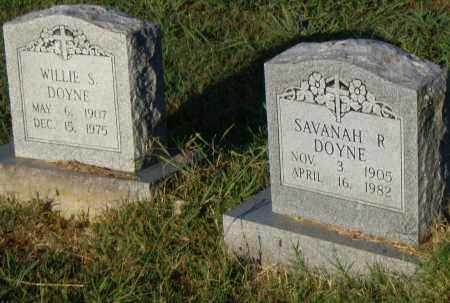 DOYNE, WILLIE S. - Pulaski County, Arkansas | WILLIE S. DOYNE - Arkansas Gravestone Photos