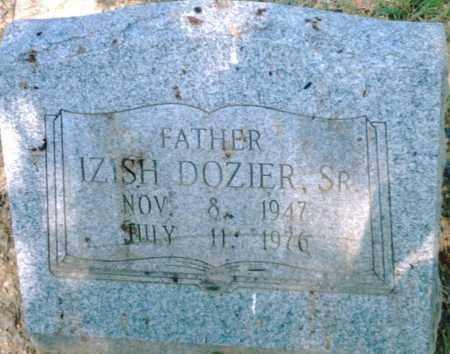 DOZIER,  SR., IZISH - Pulaski County, Arkansas   IZISH DOZIER,  SR. - Arkansas Gravestone Photos