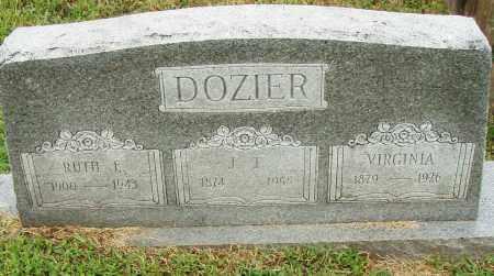 DOZIER, J. T. - Pulaski County, Arkansas | J. T. DOZIER - Arkansas Gravestone Photos