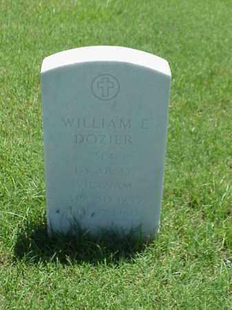DOZIER (VETERAN VIET), WILLIAM E - Pulaski County, Arkansas | WILLIAM E DOZIER (VETERAN VIET) - Arkansas Gravestone Photos