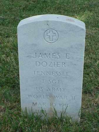 DOZIER (VETERAN WWII), JAMES E - Pulaski County, Arkansas | JAMES E DOZIER (VETERAN WWII) - Arkansas Gravestone Photos