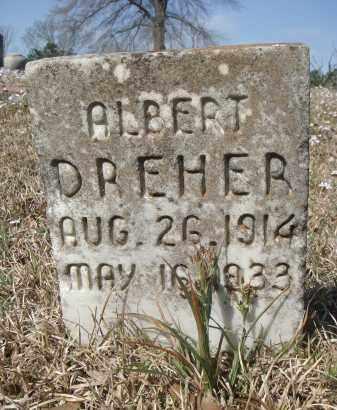 DREHER, ALBERT - Pulaski County, Arkansas | ALBERT DREHER - Arkansas Gravestone Photos