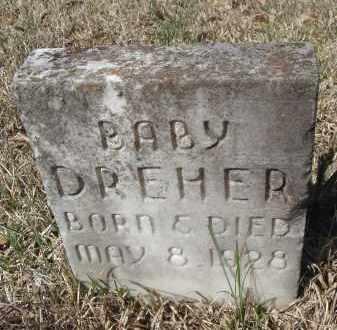 DREHER, BABY - Pulaski County, Arkansas | BABY DREHER - Arkansas Gravestone Photos