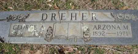 DREHER, GEORGE ALIN - Pulaski County, Arkansas | GEORGE ALIN DREHER - Arkansas Gravestone Photos