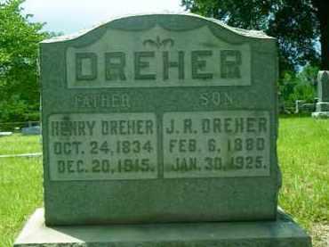 DREHER, HENRY - Pulaski County, Arkansas | HENRY DREHER - Arkansas Gravestone Photos