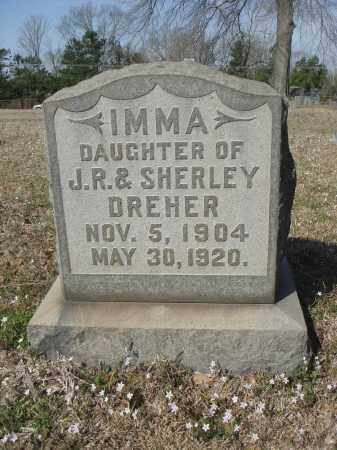 DREHER, IMMA - Pulaski County, Arkansas | IMMA DREHER - Arkansas Gravestone Photos