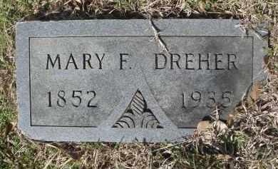 THOMAS DREHER, MARY FRANCES - Pulaski County, Arkansas | MARY FRANCES THOMAS DREHER - Arkansas Gravestone Photos