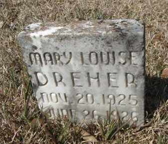 DREHER, MARY LOUISE - Pulaski County, Arkansas | MARY LOUISE DREHER - Arkansas Gravestone Photos