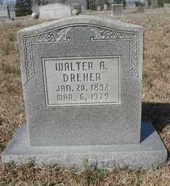 DREHER, WALTER ALBERT - Pulaski County, Arkansas | WALTER ALBERT DREHER - Arkansas Gravestone Photos