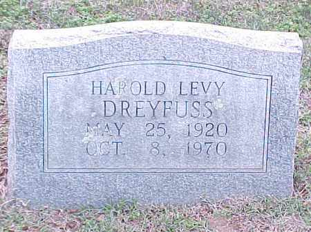 DREYFUSS, HAROLD LEVY - Pulaski County, Arkansas | HAROLD LEVY DREYFUSS - Arkansas Gravestone Photos