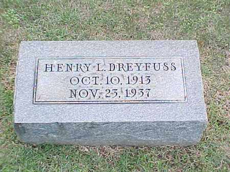 DREYFUSS, HENRY L - Pulaski County, Arkansas | HENRY L DREYFUSS - Arkansas Gravestone Photos