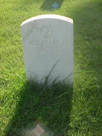 DROKE (VETERAN WWI), WILLIAM C - Pulaski County, Arkansas | WILLIAM C DROKE (VETERAN WWI) - Arkansas Gravestone Photos