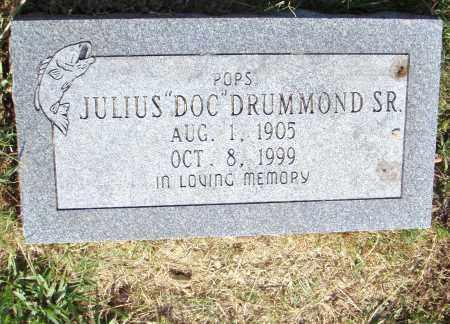 "DRUMMOND, SR., JULIUS ""DOC"" - Pulaski County, Arkansas | JULIUS ""DOC"" DRUMMOND, SR. - Arkansas Gravestone Photos"