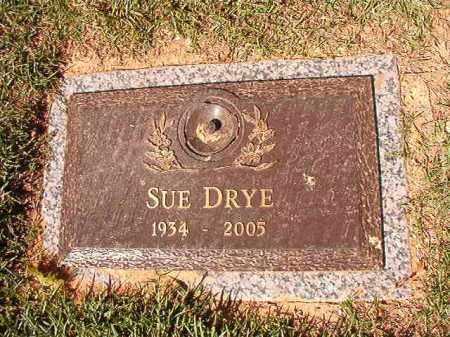 DRYE, SUE - Pulaski County, Arkansas | SUE DRYE - Arkansas Gravestone Photos