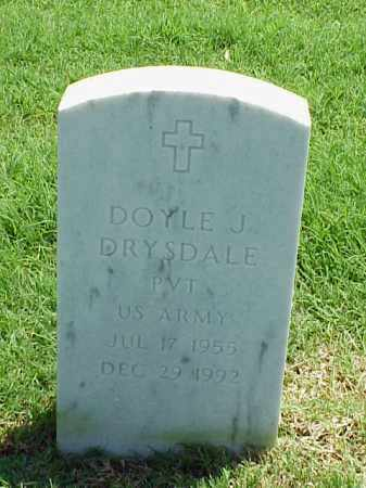 DRYSDALE (VETERAN), DOYLE J - Pulaski County, Arkansas | DOYLE J DRYSDALE (VETERAN) - Arkansas Gravestone Photos