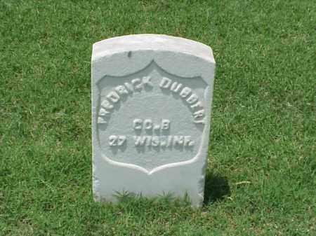 DUBBERT (VETERAN UNION), FREDRICK - Pulaski County, Arkansas | FREDRICK DUBBERT (VETERAN UNION) - Arkansas Gravestone Photos