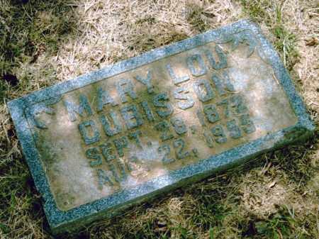 DUBISSON, MARY LOU - Pulaski County, Arkansas   MARY LOU DUBISSON - Arkansas Gravestone Photos