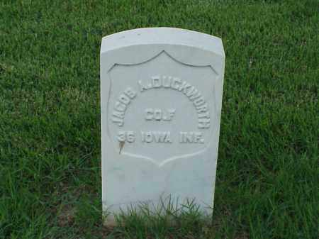 DUCKWORTH (VETERAN UNION), JACOB A - Pulaski County, Arkansas   JACOB A DUCKWORTH (VETERAN UNION) - Arkansas Gravestone Photos