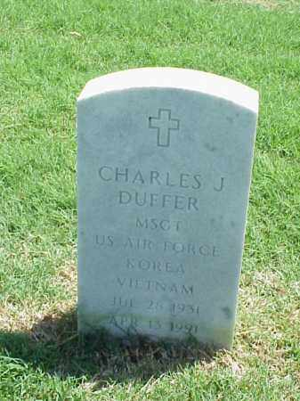 DUFFER (VETERAN 2 WARS), CHARLES J - Pulaski County, Arkansas | CHARLES J DUFFER (VETERAN 2 WARS) - Arkansas Gravestone Photos