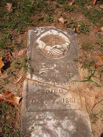 DUFFEY, NELSON - Pulaski County, Arkansas | NELSON DUFFEY - Arkansas Gravestone Photos