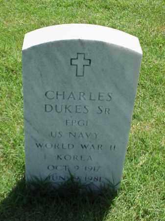 DUKES, SR (VETERAN 2 WARS), CHARLES - Pulaski County, Arkansas   CHARLES DUKES, SR (VETERAN 2 WARS) - Arkansas Gravestone Photos