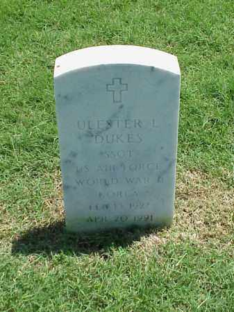 DUKES (VETERAN 2 WARS), ULESTER L - Pulaski County, Arkansas | ULESTER L DUKES (VETERAN 2 WARS) - Arkansas Gravestone Photos