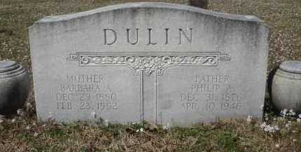 SHINAULT DULIN, BARBARA ANN - Pulaski County, Arkansas | BARBARA ANN SHINAULT DULIN - Arkansas Gravestone Photos