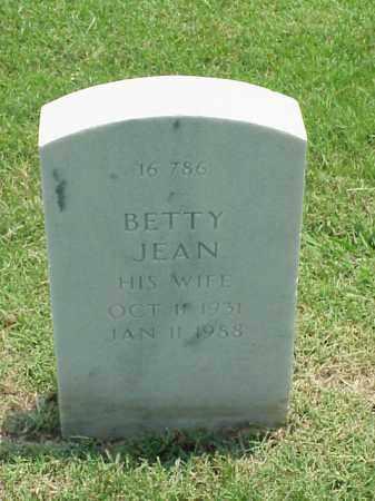 DUMAS, BETTY JEAN - Pulaski County, Arkansas | BETTY JEAN DUMAS - Arkansas Gravestone Photos