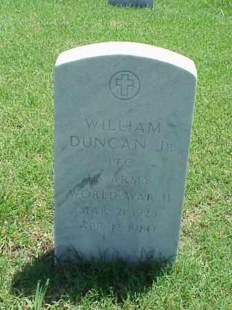 DUNCAN, JR (VETERAN WWII), WILLIAM - Pulaski County, Arkansas | WILLIAM DUNCAN, JR (VETERAN WWII) - Arkansas Gravestone Photos