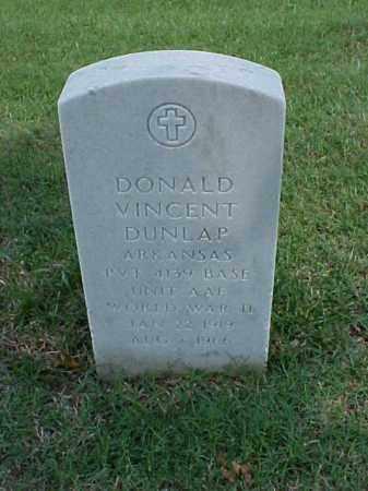 DUNLAP (VETERAN WWII), DONALD VINCENT - Pulaski County, Arkansas | DONALD VINCENT DUNLAP (VETERAN WWII) - Arkansas Gravestone Photos