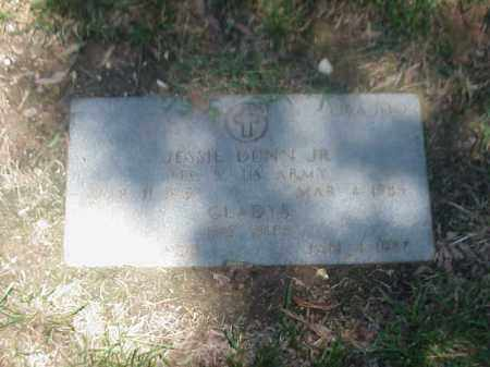 DUNN JR (VETERAN WWII), JESSIE - Pulaski County, Arkansas | JESSIE DUNN JR (VETERAN WWII) - Arkansas Gravestone Photos