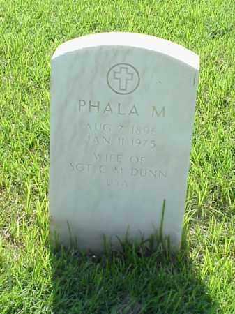 DUNN, PHALA M - Pulaski County, Arkansas | PHALA M DUNN - Arkansas Gravestone Photos