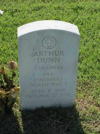 DUNN (VETERAN WWI), ARTHUR - Pulaski County, Arkansas | ARTHUR DUNN (VETERAN WWI) - Arkansas Gravestone Photos