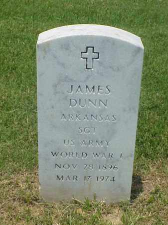 DUNN (VETERAN WWI), JAMES - Pulaski County, Arkansas | JAMES DUNN (VETERAN WWI) - Arkansas Gravestone Photos