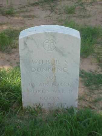 DUNNING (VETERAN 2 WARS), WILBUR S - Pulaski County, Arkansas | WILBUR S DUNNING (VETERAN 2 WARS) - Arkansas Gravestone Photos