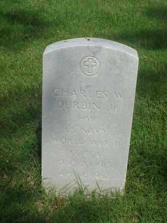 DURBIN, JR (VETERAN 2 WARS), CHARLES W - Pulaski County, Arkansas | CHARLES W DURBIN, JR (VETERAN 2 WARS) - Arkansas Gravestone Photos