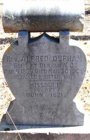 DURHAM, MISSOURI - Pulaski County, Arkansas | MISSOURI DURHAM - Arkansas Gravestone Photos