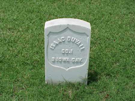DUVALL (VETERAN UNION), ISAAC - Pulaski County, Arkansas   ISAAC DUVALL (VETERAN UNION) - Arkansas Gravestone Photos