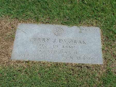DVORAK (VETERAN WWII), JERRY J - Pulaski County, Arkansas | JERRY J DVORAK (VETERAN WWII) - Arkansas Gravestone Photos