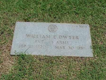 DWYER (VETERAN ), WILLIAM E - Pulaski County, Arkansas | WILLIAM E DWYER (VETERAN ) - Arkansas Gravestone Photos