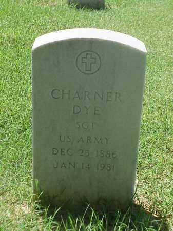 DYE (VETERAN), CHARNER - Pulaski County, Arkansas   CHARNER DYE (VETERAN) - Arkansas Gravestone Photos