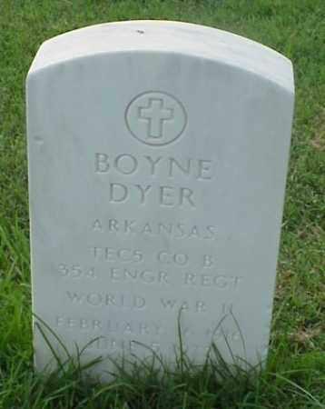 DYER (VETERAN WWII), BOYNE - Pulaski County, Arkansas | BOYNE DYER (VETERAN WWII) - Arkansas Gravestone Photos