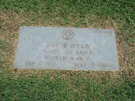 DYER (VETERAN WWII), JAY B - Pulaski County, Arkansas | JAY B DYER (VETERAN WWII) - Arkansas Gravestone Photos