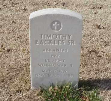 EACKLES, SR (VETERAN WWII), TIMOTHY - Pulaski County, Arkansas | TIMOTHY EACKLES, SR (VETERAN WWII) - Arkansas Gravestone Photos