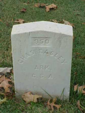 EASLEY (VETERAN CSA), CHARLES - Pulaski County, Arkansas | CHARLES EASLEY (VETERAN CSA) - Arkansas Gravestone Photos