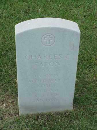 EATON (VETERAN 3 WARS), CHARLES E - Pulaski County, Arkansas | CHARLES E EATON (VETERAN 3 WARS) - Arkansas Gravestone Photos