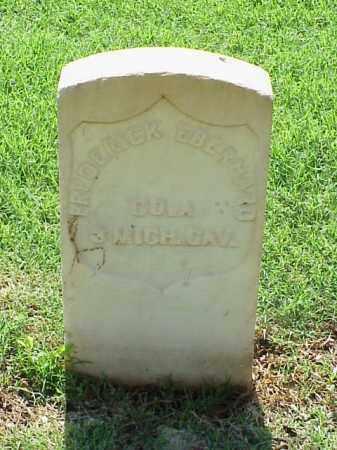 EBERHARD (VETERAN UNION), FREDERICK - Pulaski County, Arkansas | FREDERICK EBERHARD (VETERAN UNION) - Arkansas Gravestone Photos