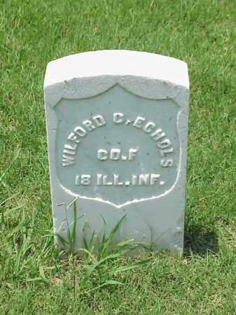 ECHOLS (VETERAN UNION), WILFORD C - Pulaski County, Arkansas | WILFORD C ECHOLS (VETERAN UNION) - Arkansas Gravestone Photos